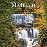 Michigan Wild & Scenic 2020 12 x 12 Inch Monthly Square Wall Calendar, USA United States of America Midwest State Wilderness (English, French and Spanish Edition)