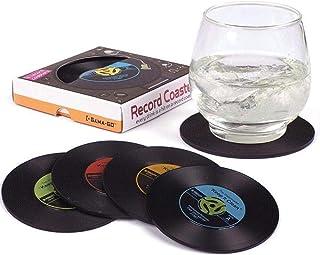 Set of 4 Record Coasters