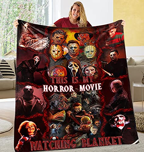 This is My Horror Movie Watching Blanket