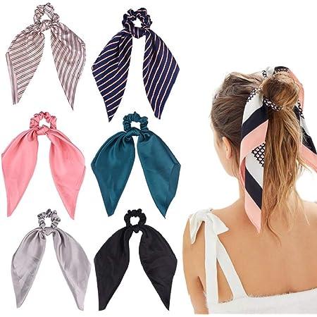 DRESHOW 6 Pezzi Fasce per Capelli Boho Stile Criss Cross Turbante Fascia Avvolgere la Testa Yoga Workout Accessori Cerchietti per Donna Ragazze