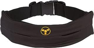 Nuclear Strength Fitness Belt for Women & Men Running Belt (Black, One Size fits Most)