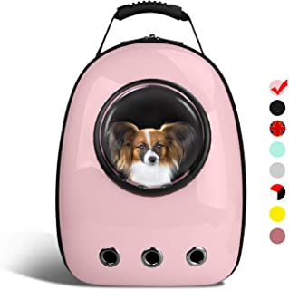 AntTech Breathable Pet Travel Backpack Space Capsule Carrier Bag Hiking Bubble Backpack for Cat & Dog Puppy