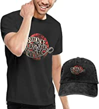 Kina D Wilson Creedence Clearwater Revival T Shirt and Baseball Cap Personality Suit for Men