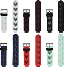 Replacement for Garmin Forerunner 235 Watch Strap Accessory-Adjustable Silicone Sport Wristband/Strap/for Forerunner 220/230/620/630/735XT/235Lite
