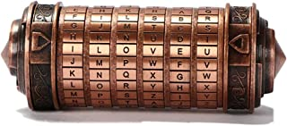Da Vinci Code Mini Cryptex Mini Collectible Birthday Gifts for Her,Valentine's Day Interesting Romantic Gifts for Men
