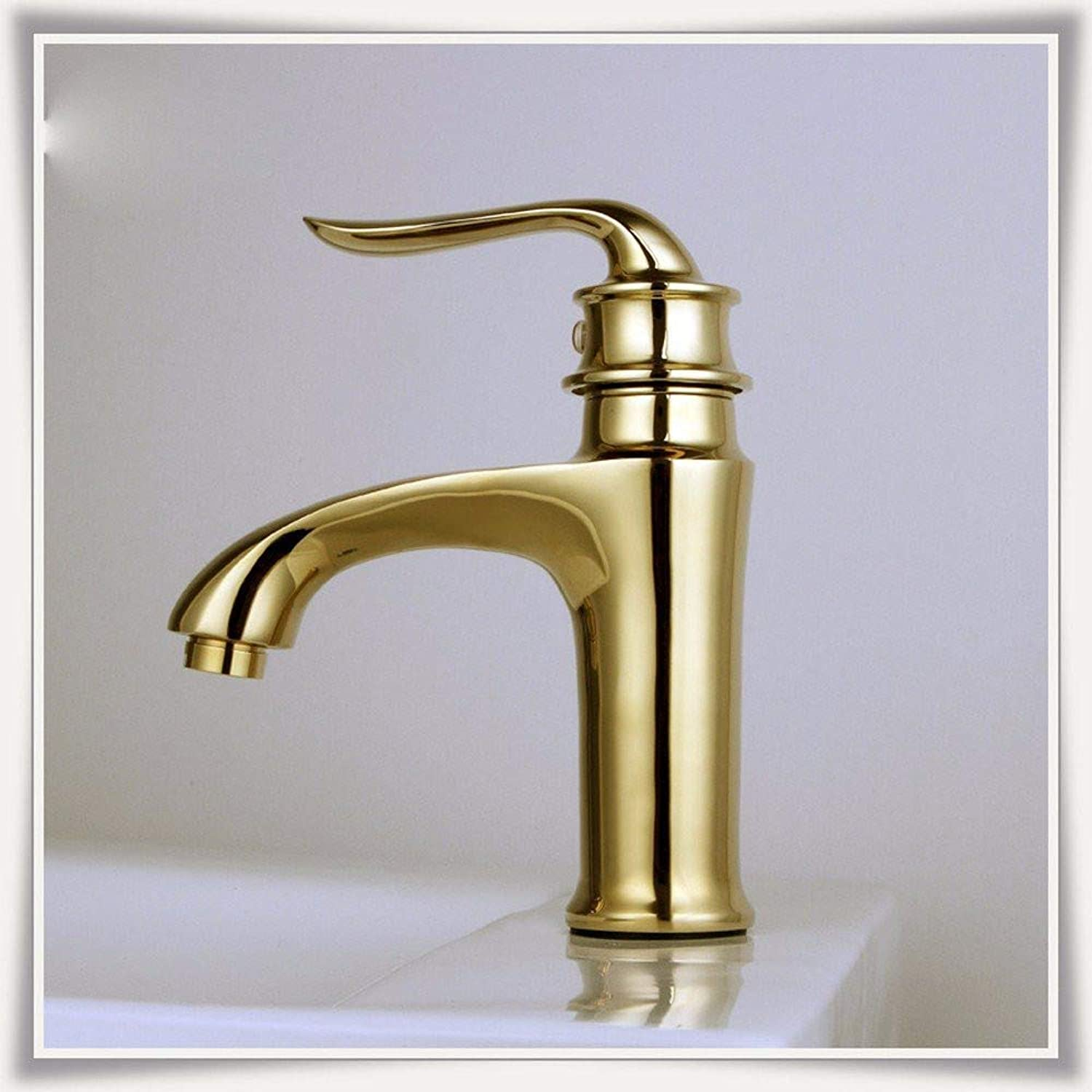 Faucet360° redating Faucet Retro Faucetthe Copper-colord Basin Hot and Cold Basin High Quality Faucet