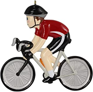 WorldWide Personalized Bicycle Boy Christmas Ornament