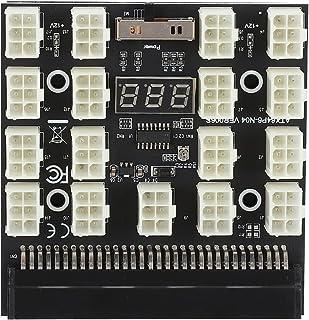 17X 6Pin Power Supply Breakout Board Adapter 1 Tot 17 Power Adapter voor Ethereum BTC Mining, PSU GPU Ondersteuning voor D...