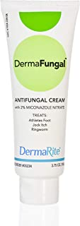Dermafungal Athlete's Foot Antifungal Cream - 3.75 Oz Tube, 24 Pack Case - Treats Jock Itch, Ringworm and Dry Itchy Skin -...