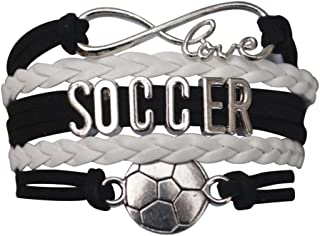 Soccer Gifts, Soccer Bracelet, Soccer Jewelry, Adjustable Soccer Charm Bracelet- Perfect Soccer Gifts