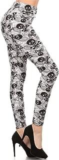 REG/PLUS/3X5X Printed Women Fashion Leggings BAT9