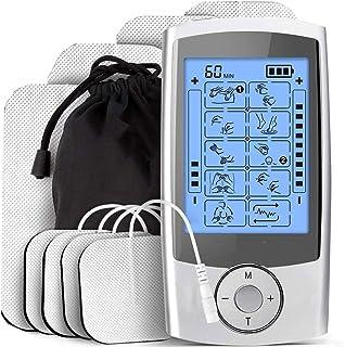 Electroestimulador Digital Muscular, Mini Masajeador Y Estimulador, Electrodos Para Tens, Gimnasia Pasiva, Tens Ems Electroestimulador, Electroestimulacion, Electroestimulador Tens, Tens Fisioterapia