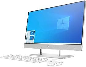 HP 液晶一体型 デスクトップパソコン インテル Core i7 メモリ16GB 512GB SSD 2TB HDD Windows10 27インチ IPSフルHD タッチディスプレイ HP All-in-One 27 ナチュラルシルバー(型...