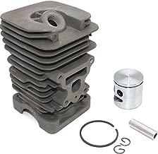 Nikasil Cylinder Piston Kit 41mm For Poulan Chainsaw P3314 P3314WS P3314WSA P3416 P3516PR P3818AV P4018 P4018AV P4018AV-BH P4018WM P4018WT P4018WTL PP3516 PP418AVHD PP4218AVL PPB3416 PPB4018 S1970