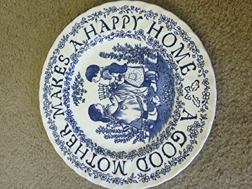 Royal Crownford Plate By Norma Sherman a Tribute to Mother All Year Long