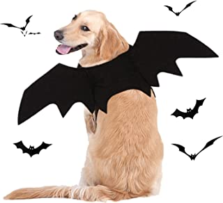 BWOGUE Dog Costume Halloween Pet Bat Wings Cosplay Apparel for Small to Large Sized Dogs Party Decoration