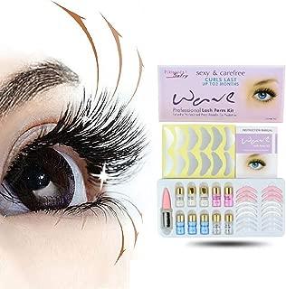 Eyelash Lift Kit Eyelash Perm Kit, Zhengpin Professional Eyelash Curling Perming Kit, Semi-Permanent Eyelash Glue Perming Liquid Eye Rod Eyelash Curler Kit