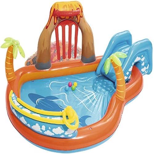 FJIE Aufblasbares Kinderbecken, Aufblasbares Spielcenter, Kiddie-Spielbecken Für Meerestiere - 265 X 265 X 104 cm
