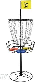 CROWN ME Disc Golf Basket Target, 9,18,24 Chain Portable Metal Golf Goals Baskets