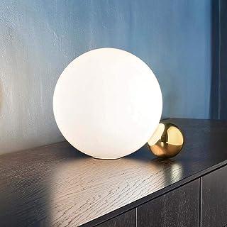 Amazon It Palla Di Vetro Lampade Da Tavolo E Abat Jour Lampade Illuminazione