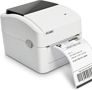 MFLABEL 4x6 Direct Thermal Printer, Commercial High Speed Label Writer,Compatibel with Amazon,Ebay