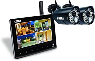 Cobra 4 Channel Wireless Surveillance System with 2 Cameras 7