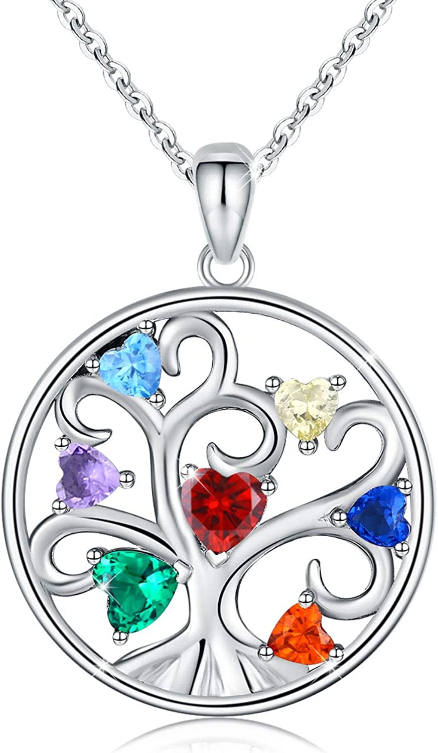 Tree of Life Necklace 925 New arrival 25% OFF Sterling Jewelry Gift Family Silver fo