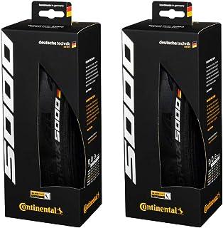 Continental 2個セット GP 5000 700x25C レーシングバイクタイヤ ブラック 折りたたみ 0101624