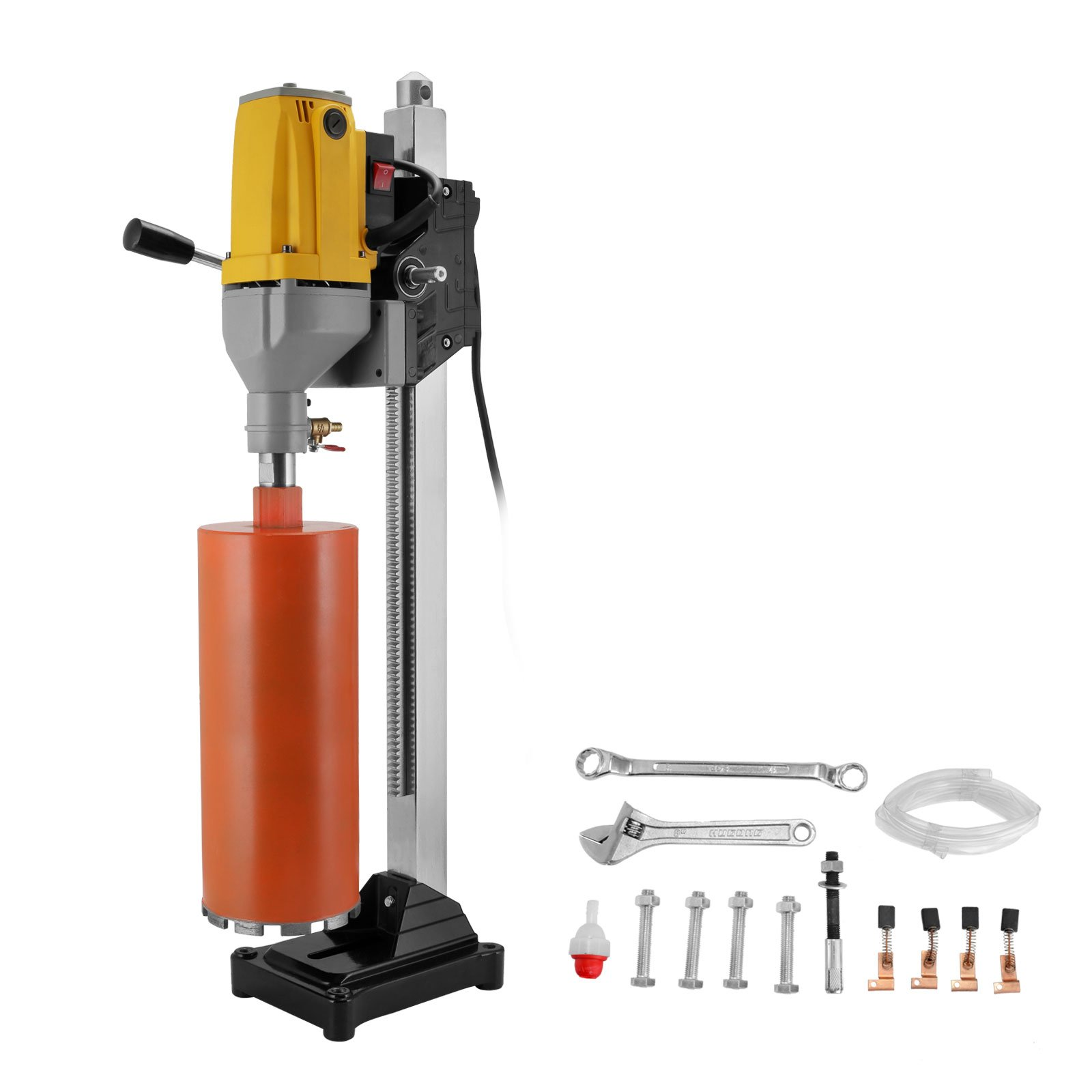 160mm Diamond Core Drill Wet//Dry Handheld Concrete Core Drill Machine 2180W 110V