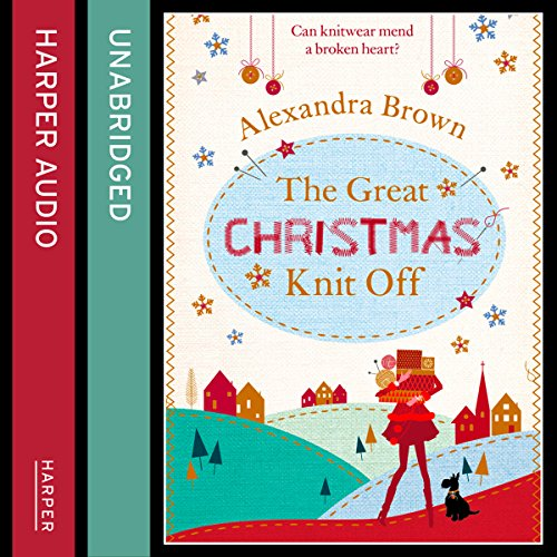 The Great Christmas Knit Off audiobook cover art