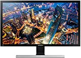 Samsung U24E590D 59,94 cm (23,6 Zoll) Monitor (HDMI, 4ms Reaktionszeit, 3840 x 2160 pixel) schwarz