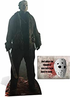 Fan Pack -Jason Voorhees Friday the 13th Lifesize Cardboard Cutout / Standee / Standup - Includes 8x10 Star Photo