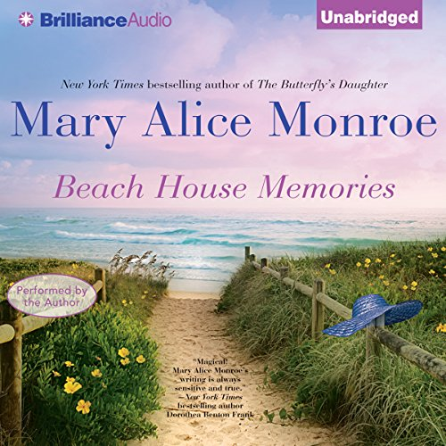Beach House Memories audiobook cover art