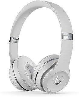 Trådlösa BeatsSolo3 on-ear-hörlurar – AppleW1-chippet, Class1Bluetooth, 40 timmars lyssning - Satin/Silver