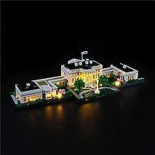 Led-verlichtingsset voor Architectuur Het Witte Huis - Compatibel met Lego 21054 Bouwstenen Model - Exclusief de Lego-set