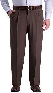 Haggar Men's Big & Tall Premium Comfort Classic Fit Pleat Dress Pant Dress Pants