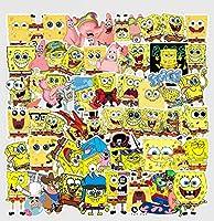 スポンジボブ SpongeBob アメコミ アメリカ漫画アニメ ステッカー60枚