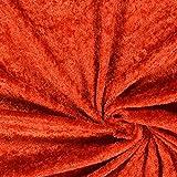 Fabulous Fabrics Pannesamt Terracotta – Weicher Samt