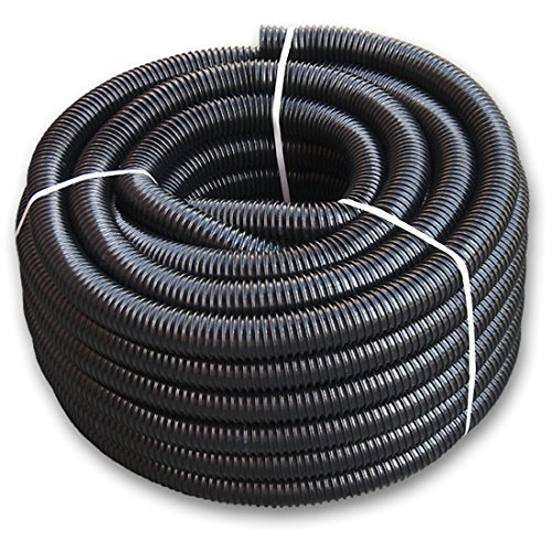 """30m Saugschlauch für Industrie und Landwirtschaft aus PVC spiralschlauch flexibler Schlauch Teichschlauch Marke FITT 32mm 1 1/4"""" 1,43?/m"""
