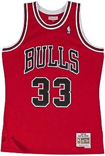 Mitchell & Ness Replica Swingman NBA Jersey HWC 33 Pippen Chicago Bulls Basketball Trikot