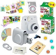 Fujifilm Instax Mini 9 Camera + Fuji INSTAX Instant Film (40 Sheets) + 14 PC Instax Accessories kit Bundle, Includes; Inst...