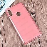 MELOENVIAS Funda Carcasa para Xiaomi Redmi S2 Gel TPU Liso Mate Color Rosa