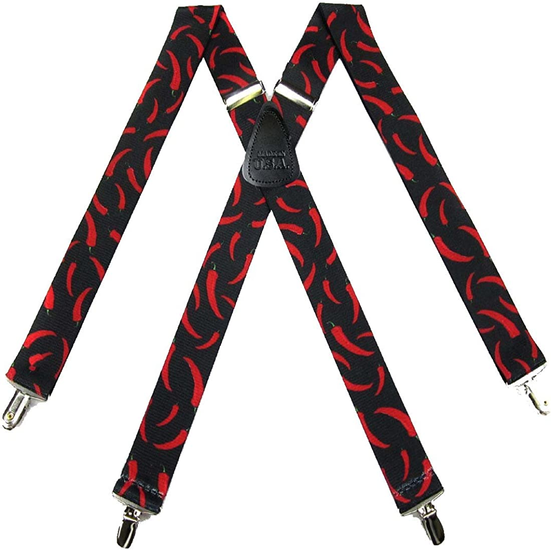 Mens Novelty Theme Clip Suspender Made in the USA