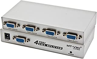 New Networking Accessories 4 Port 150MHz VGA Splitter (1 VGA Input, 4 VGA Output) Used for Network