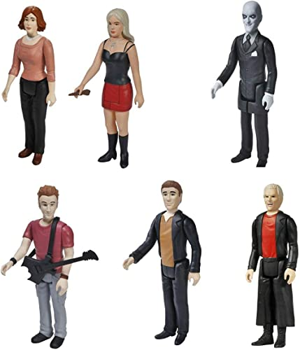 BUFFY THE VAMPIRE SLAYER REACTION FIGURE SET OF 6 by FunKo