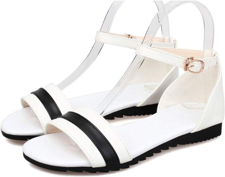 Women Flat Sandalias Fashion Summer Beach Sandals Leisure shoes shoes women Size 33-43