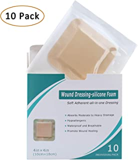 Silicone Foam Dressing 10 Pack 4