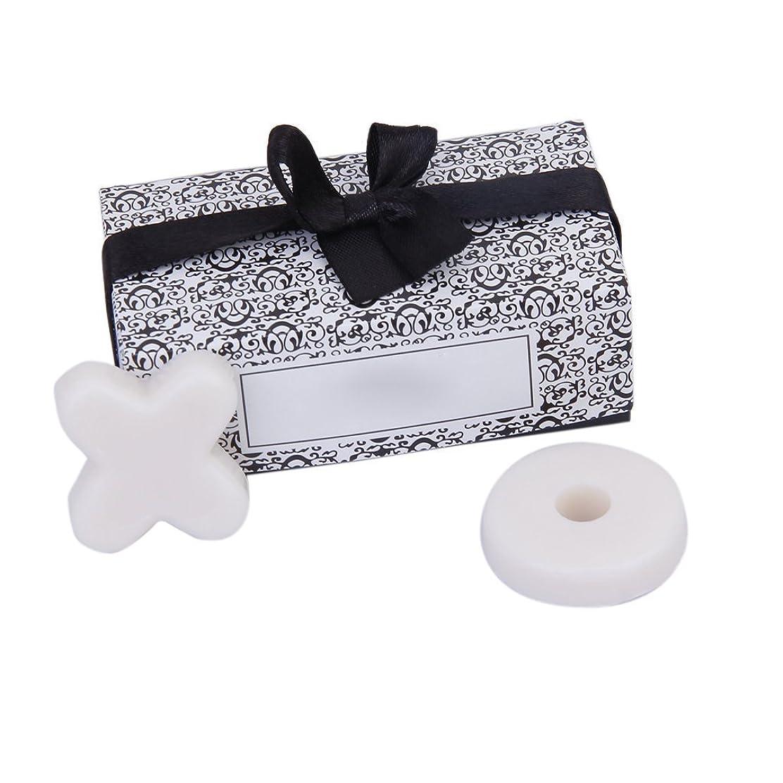 仲間、同僚マルクス主義うんざりSODIAL(R) トレンディーかわいい香り 石鹸 結婚式のギフト XO石鹸 パーティー、ベビーシャワー用 ホワイト