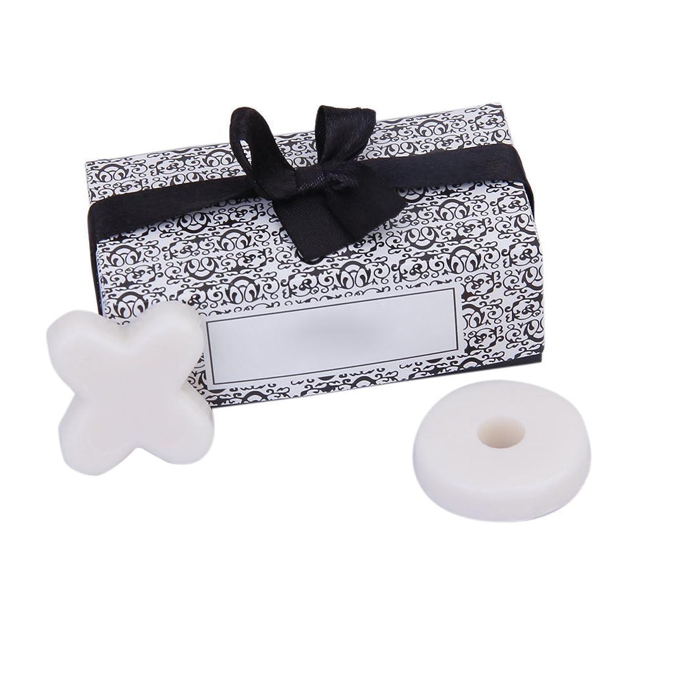 噛む分散艶SODIAL(R) トレンディーかわいい香り 石鹸 結婚式のギフト XO石鹸 パーティー、ベビーシャワー用 ホワイト