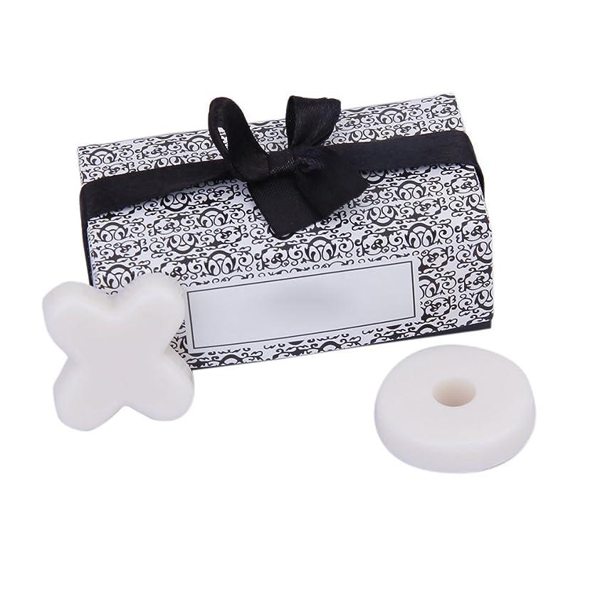 道徳のお手伝いさんスナッチSODIAL(R) トレンディーかわいい香り 石鹸 結婚式のギフト XO石鹸 パーティー、ベビーシャワー用 ホワイト